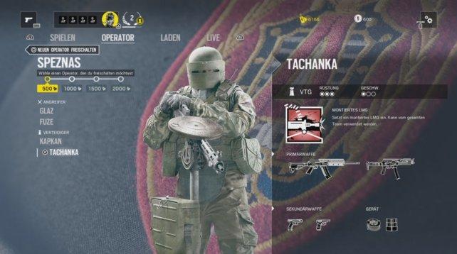 Operator Tachanka