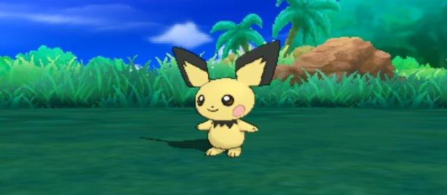 Pokémon Sonne und Mond: Ein wildes Pichu erscheint!