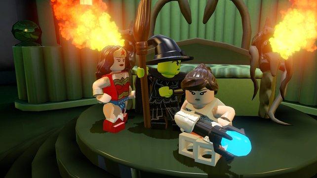 Was führen Wonder Woman, die Böse Hexe von Oz und Chell aus Portal bloß im Schilde?