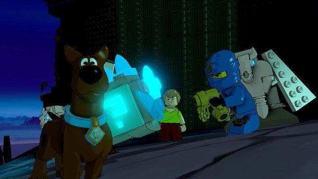 Mit dem dusseligen Scooby Doo erlebt ihr lustige Rätsel.