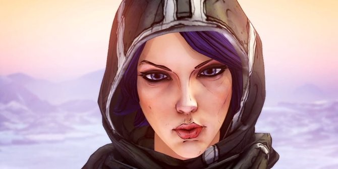 Athena ist schon einer der besser aussehenden Charaktere aus den Borderlands.