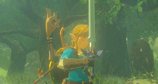 Dieses prächtige Schwert kann schon bald euch gehören.