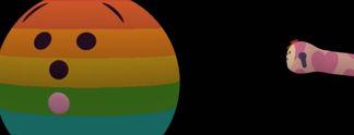 Nach sieben Jahren: Spieler von Noby Noby Boy erreichen Pluto