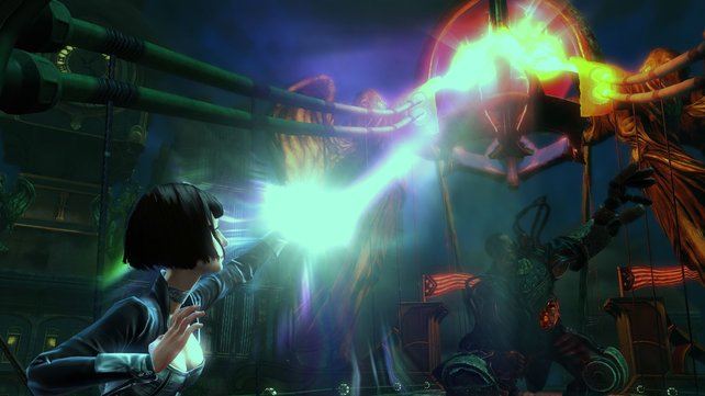 BioShock Infinite spielt jetzt über den Wolken, nicht mehr Unterwasser.