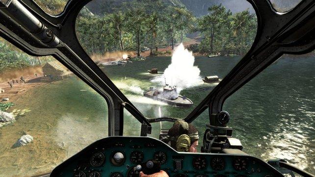 Schauplatz im Kalten Krieg - u.a. Vietnam.