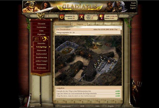 Gladiatus schlug ein wie eine Bombe.