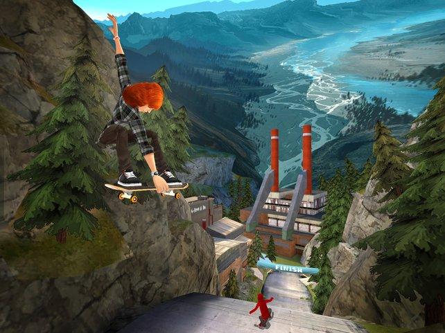 Die Wii-Levels sind kleiner, dafür strukturierter dank eindeutiger Aufgaben.