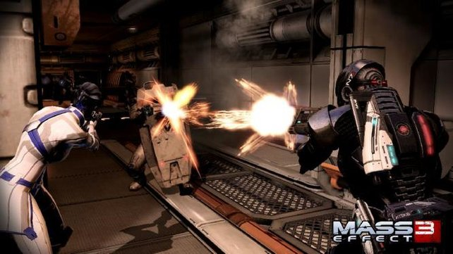 Mass Effect 3 spielt sich oft wie ein Shooter.