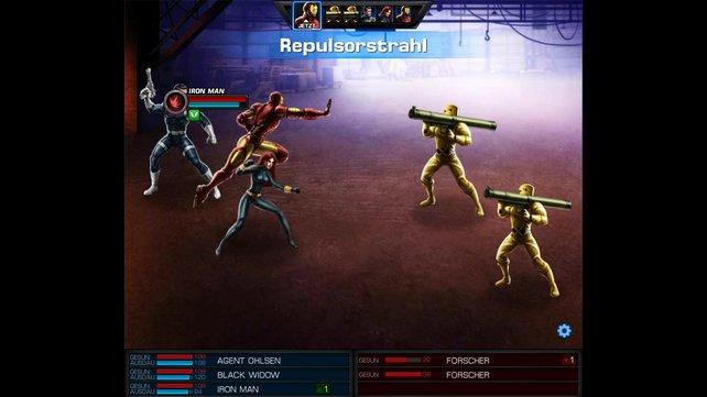 Ob Iron Man und seine Kollegen die Raketenwerfer-Soldaten besiegen? Wir sind zuversichtlich.