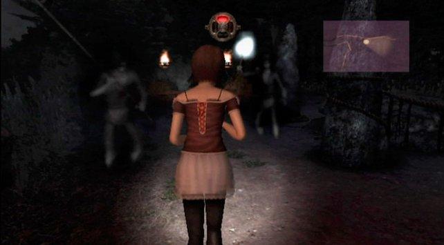 Im Dunkel der Nacht tauchen plötzlich Geister-Bewohner des Dorfs auf.