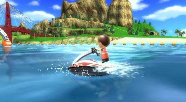 Ungestört Surfen im Inselparadies - was will man mehr?