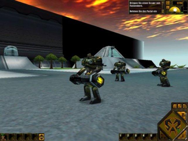 """3 Rumbler - die Einheiten sind in """"Dark Reign 2"""" sehr detailliert dargestellt."""
