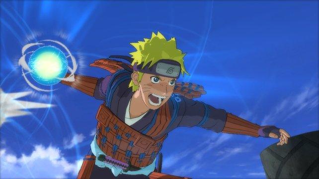 Neue Kostüme Ahoi! Naruto trägt die Rüstung eines Samurai.