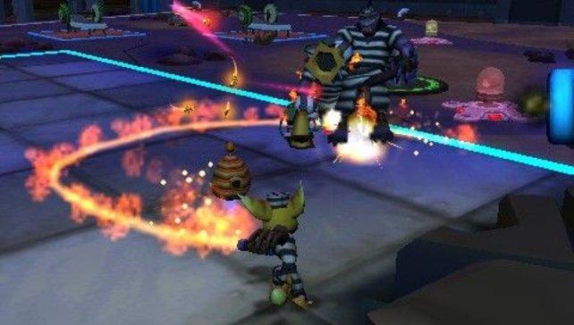 Ihr dürft nicht nur Clank, sondern auch Kumpel Ratchet spielen