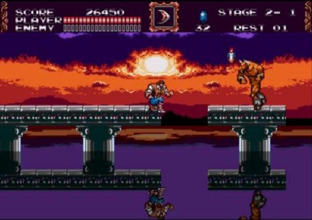 The New Generation auf dem Mega Drive setzt die Serie fulminant fort.