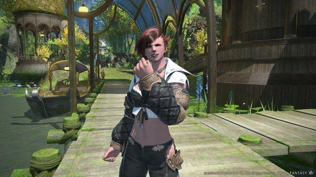 Das MMO lockt mit hübschen Charakteren.