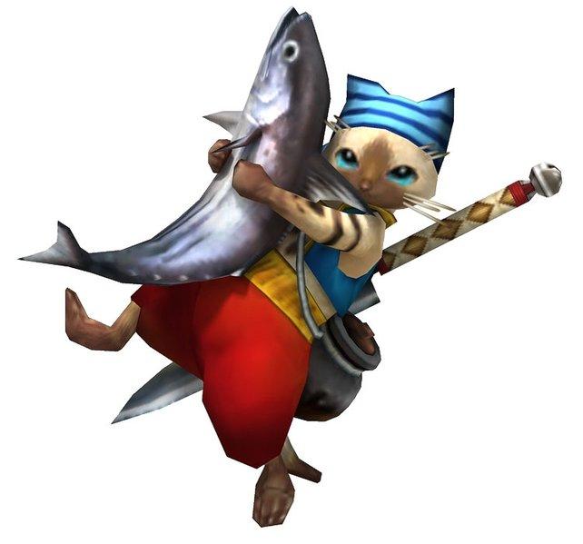 Seid froh, dass er einen Fisch und keine Bombe trägt!