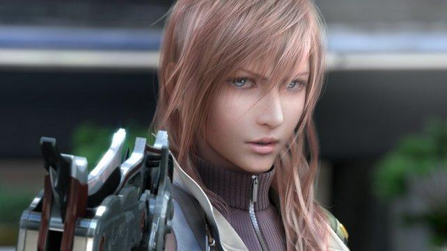 Ist sie nicht hübsch, die neue Protagonistin von Final Fantasy XIII?