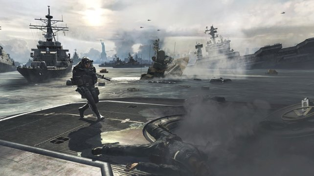 Call of Duty liefert geballte Action an zahlreichen Kriegsschauplätzen.