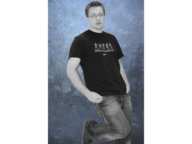 Ein Bild von einem Mann.