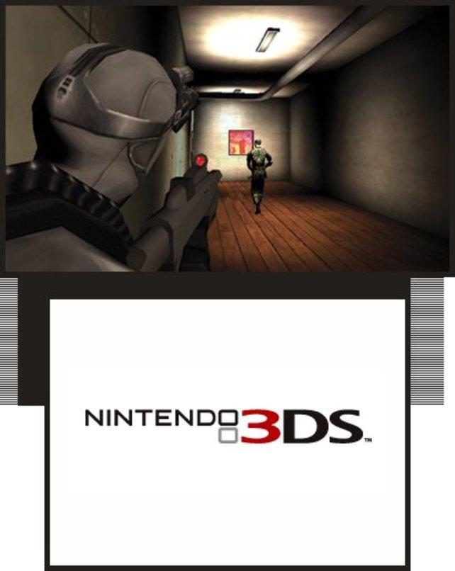 Viele Fremdhersteller schicken ihre Aushängeschilder ins 3DS-Rennen wie hier Ubisofts Splinter Cell.