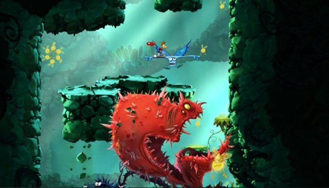 Selten war 2D so schön wie bei Rayman Origins.