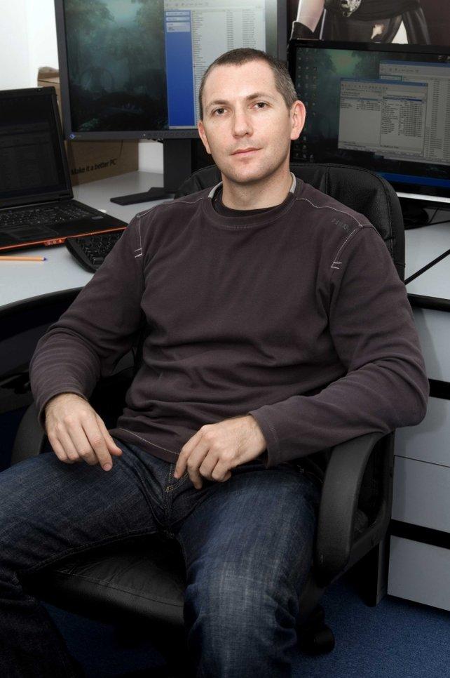 Mirek Dymek, CEO von Reality Pump.