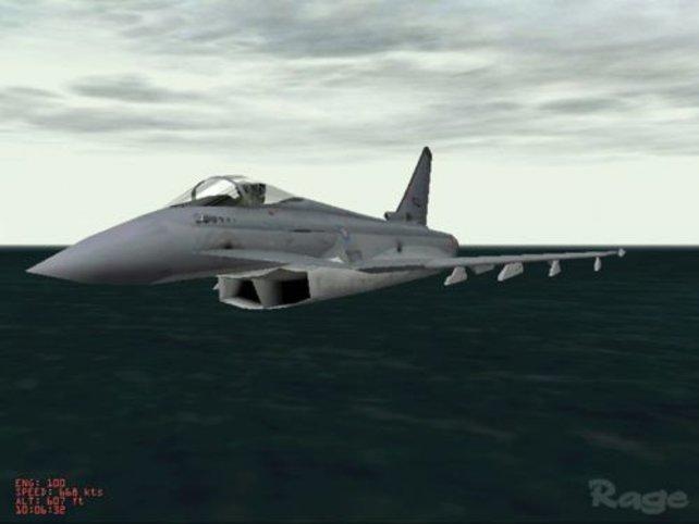 Der Eurofighter in der Aussenansicht