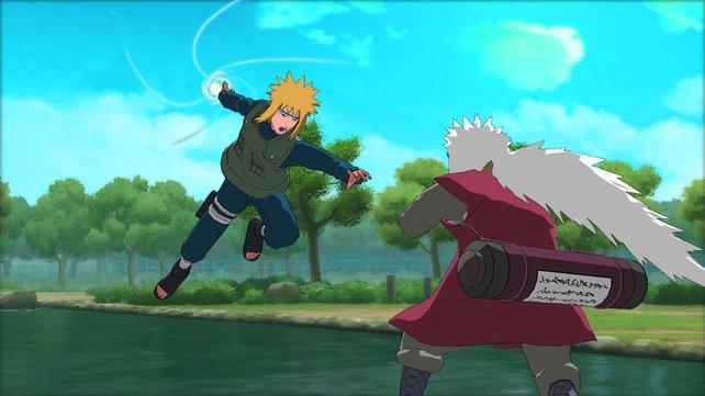 Zwischen den Kämpfen gibt es über eine Stunde Anime-Szenen.