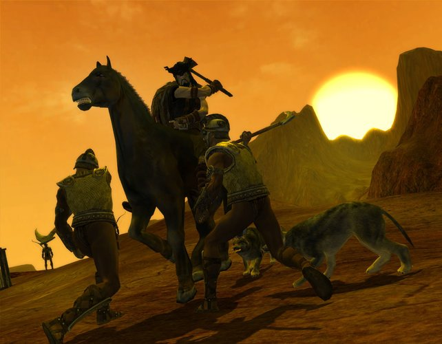 Der Kampf zu Pferd lässt völlig neue Möglichkeiten entstehen