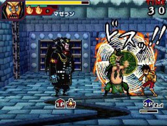Magellan kämpft gegen Ruffy. Ob er ihn mit seinem Gift besiegen kann?