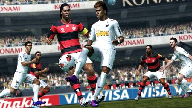 Alt gegen neu. Oder: Ronaldinho gegen Neymar.