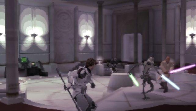 Stillleben mit Klon-Held und Jedi.