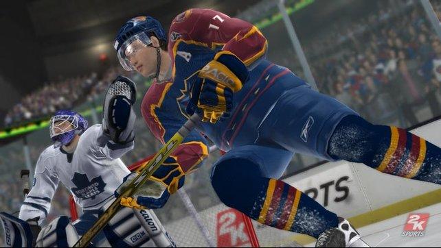 Die detaillierte Darstellung der Spieler begeistert sofort.