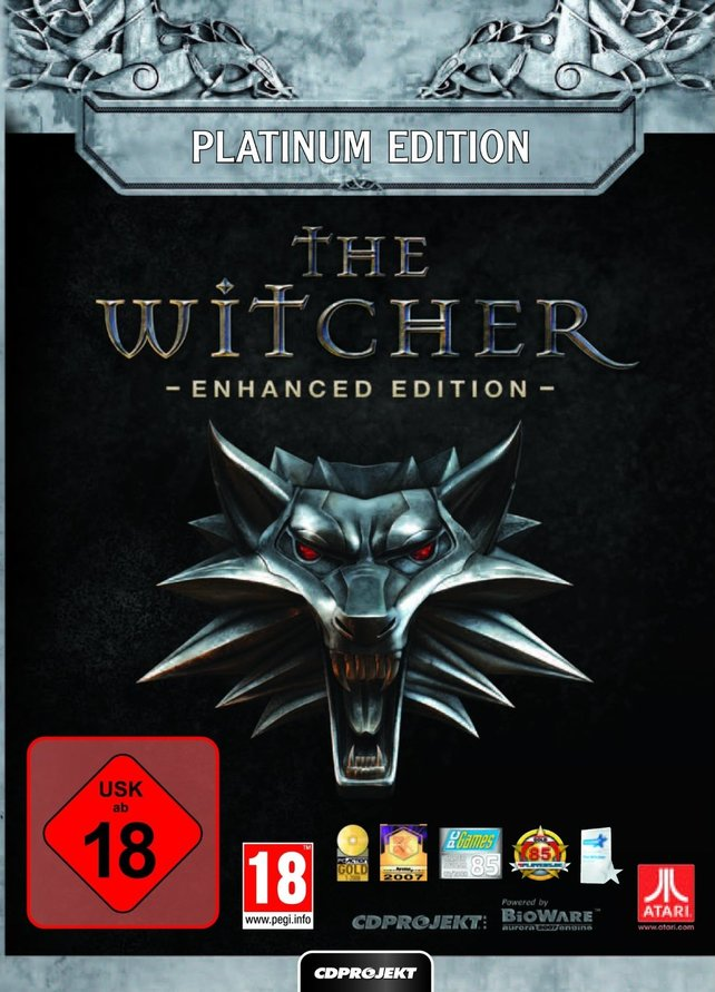 Die Platinum-Auflage von The Witcher Enhanced Edition kostet 15,99 Euro bei Amazon.