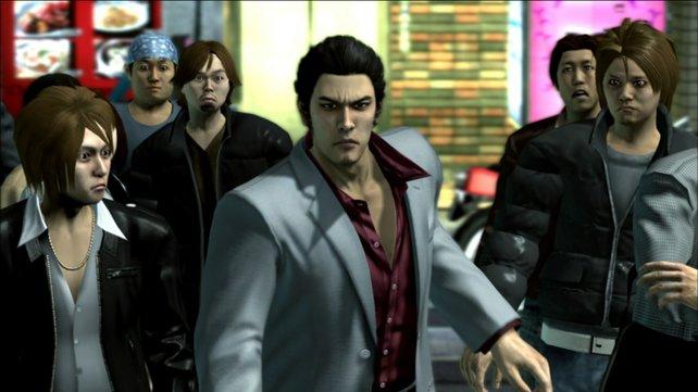 Zwielichtige Gestalten gibt es auch in Japan - das stellt Yakuza 4 unter Beweis.