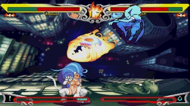 In Darkstalkers Resurrection erwarten auch zwei klassische Prügelspiele.