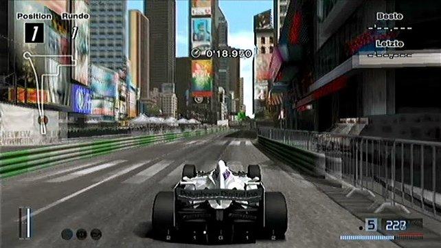 Im vierten Teil heizt ihr auch mit röhrenden Formel-1-Wagen durch die Städte.