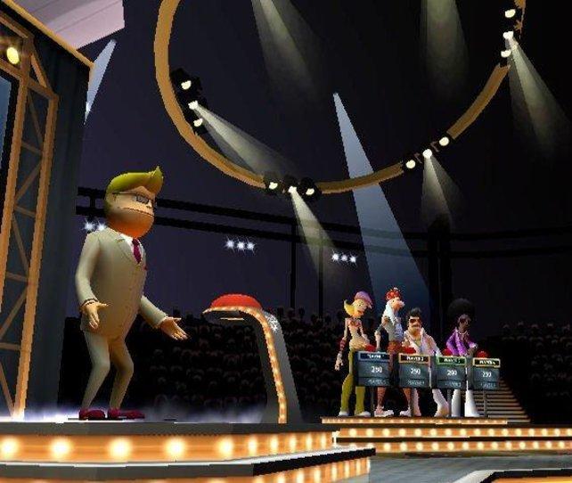 Buzz und seine Kandidaten
