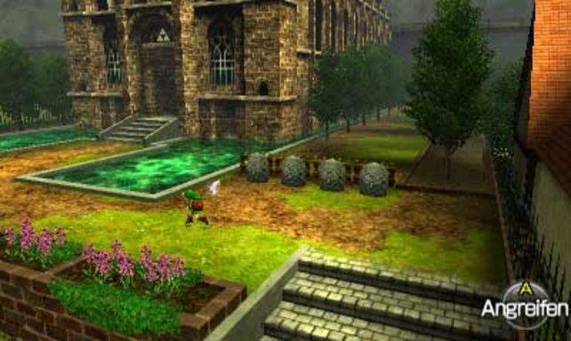 Selbst aufwändige Levelarchitektur stellt der 3DS prächtig dar.