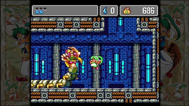 Monster World IV sieht heute noch schön aus.