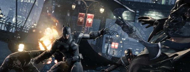 Batman - Arkham Origins: Komplette Mission und Bat-Höhle im neuen Video