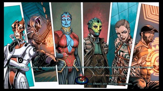 Im interaktiven Comic bestimmt ihr einschneidende Ereignisse der Vorgänger.