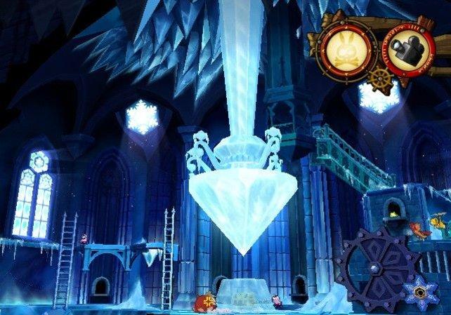 Vor einem Level gibt es einen kleinen Überblick über die Szenerie.