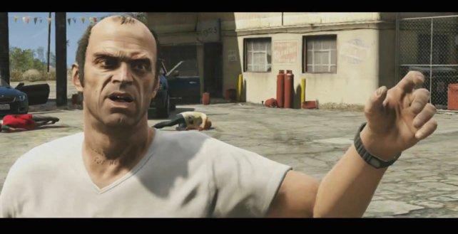 Zu Beginn von GTA 5 scheint Trevor sein Geld mit Drecksarbeit zu verdienen.