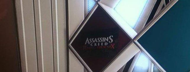 Assassin's Creed 4: Bild von Rising Phoenix bei Abstergo versteckt