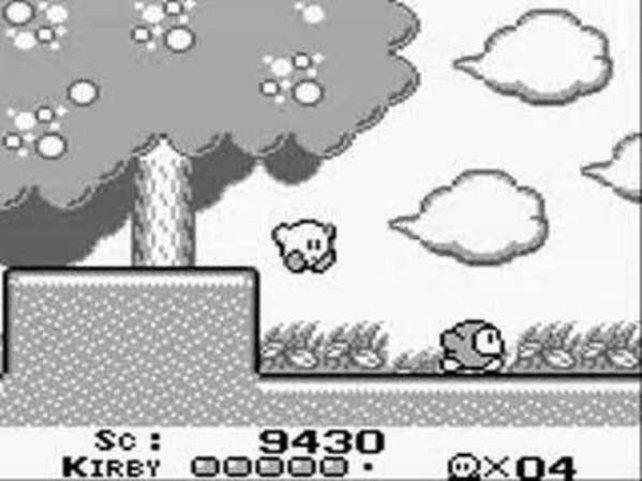 Kirby gehört zu den relativ wenigen Nintendo-Helden, die auf dem Game Boy ihren Einstand feiern.