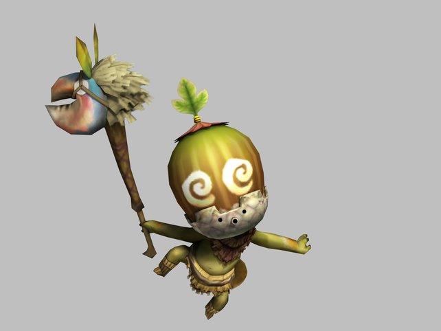 Cha-Cha vom mächtigen Shakalaka-Clan. Noch Fragen?