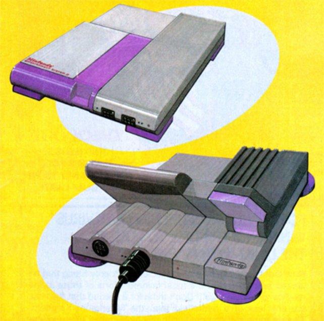 Die ersten Konzeptskizzen fürs Super Nintendo aus den späten Achtzigern
