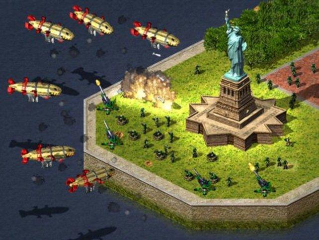 Angriff auf New York.